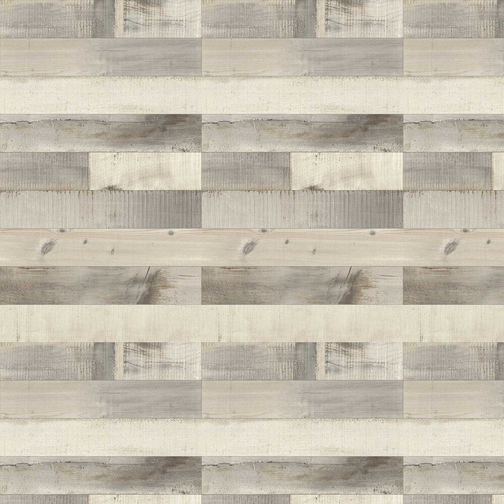Albany Floor Boards Grey Wallpaper - Product code: 442113