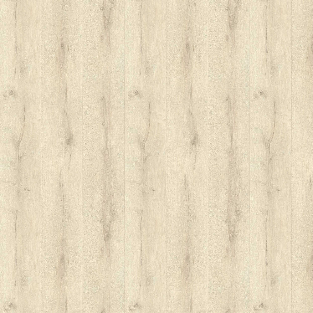 Wood Planking Wallpaper - Cream - by Albany