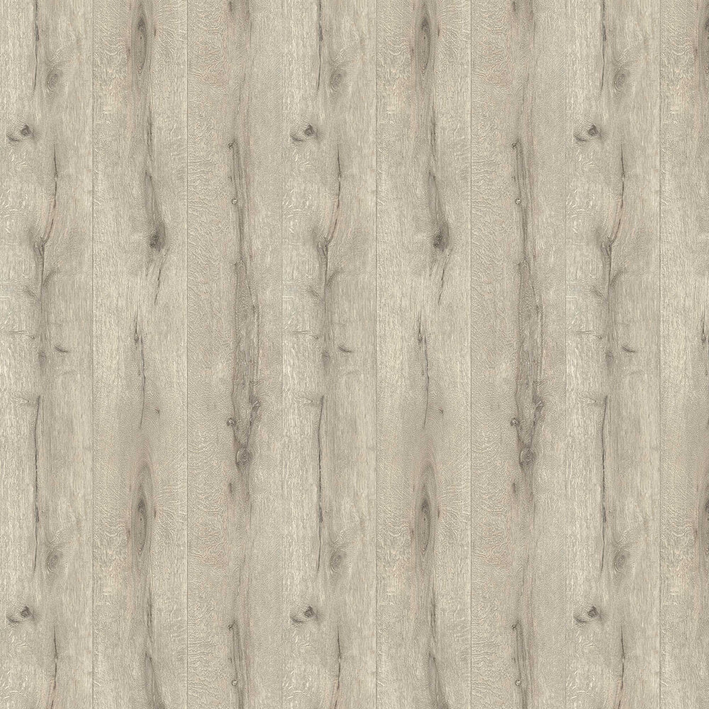 Wood Planking Wallpaper - Silver Grey - by Albany