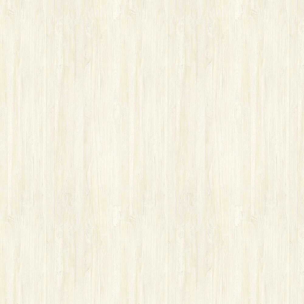 Wooden Effect Wallpaper - Cream - by Albany