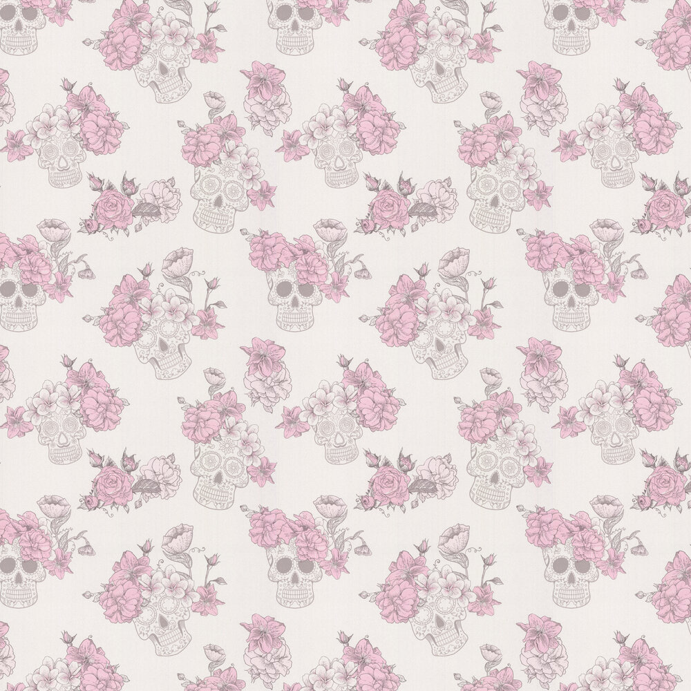 Meurte Wallpaper - Pink - by Albany