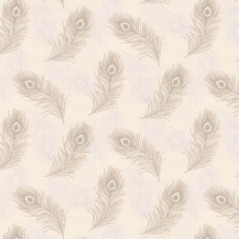 Viola Wallpaper - Brown / Cream - by Albany