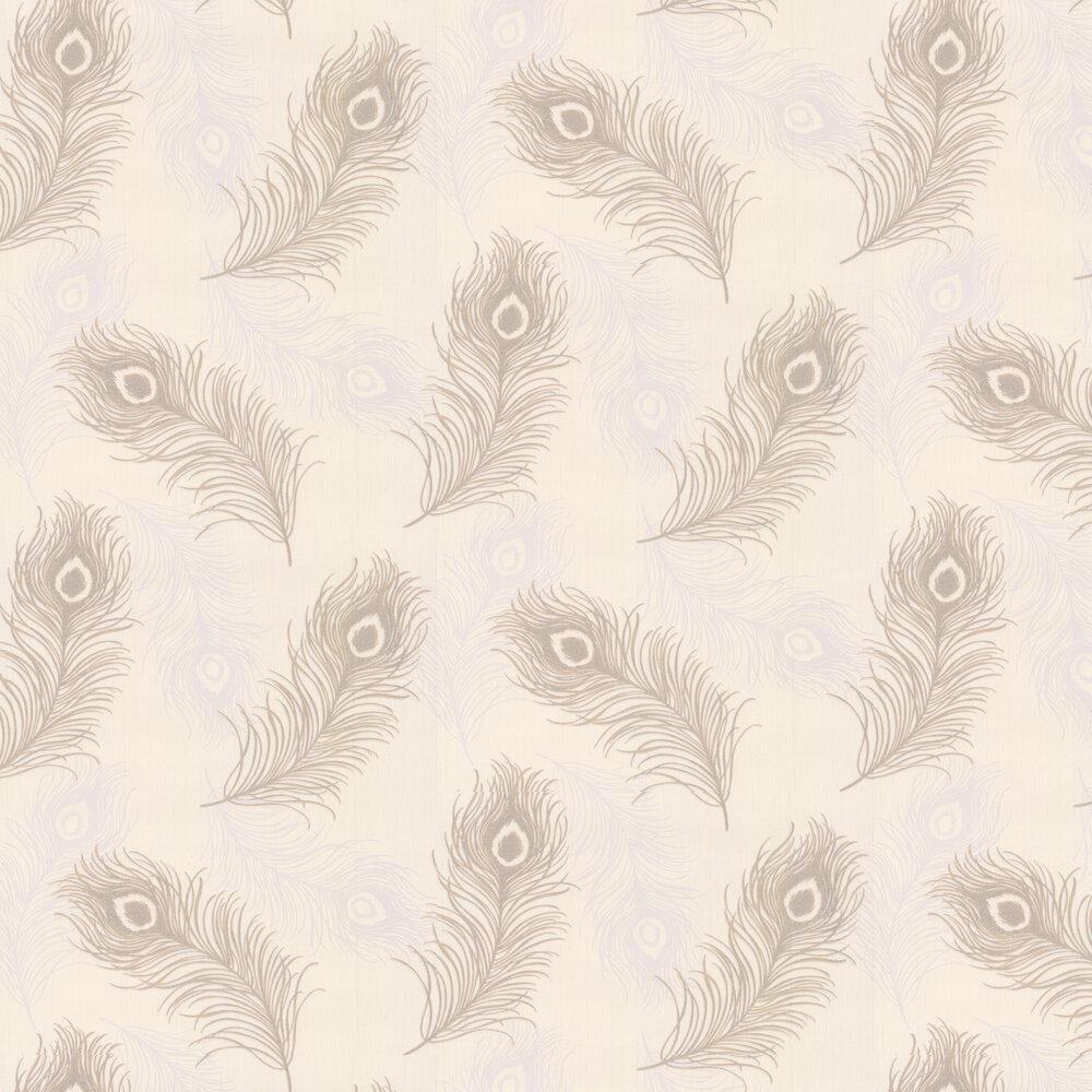 Albany Viola Brown / Cream Wallpaper - Product code: 40913