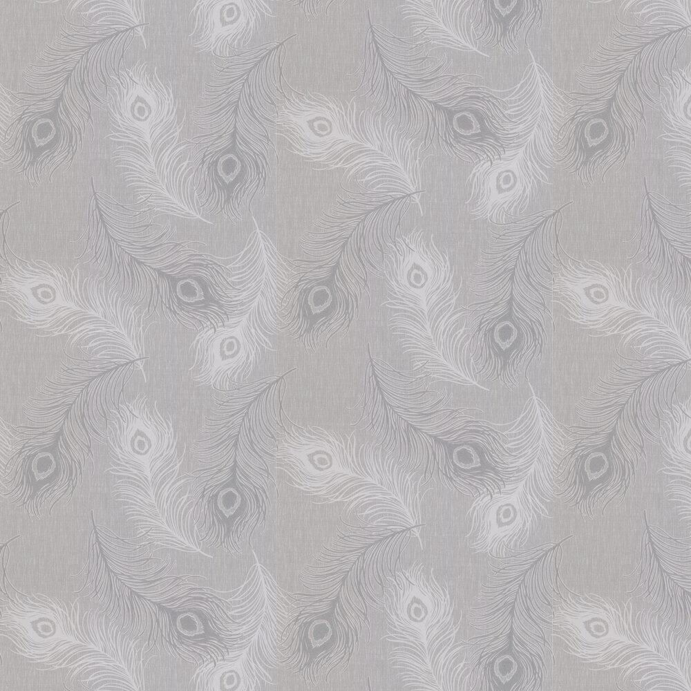 Viola Wallpaper - Silver Grey - by Albany