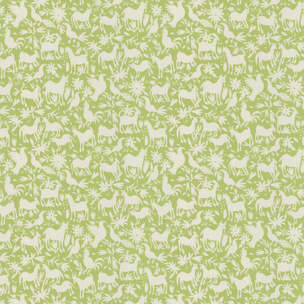 Otomi Wallpaper - Cactus - by Andrew Martin