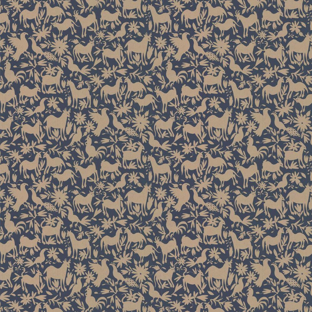 Andrew Martin Otomi Midnight Wallpaper - Product code: OT06 - MIDNIGHT