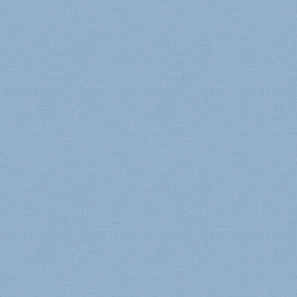 Grandeco Plain Weave Denim Blue Wallpaper - Product code: LO1005