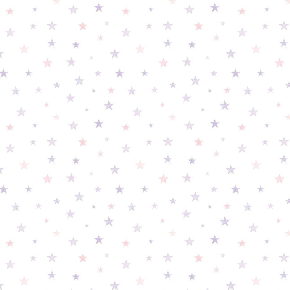Grandeco Starry Purple / Pink Wallpaper - Product code: LO2702