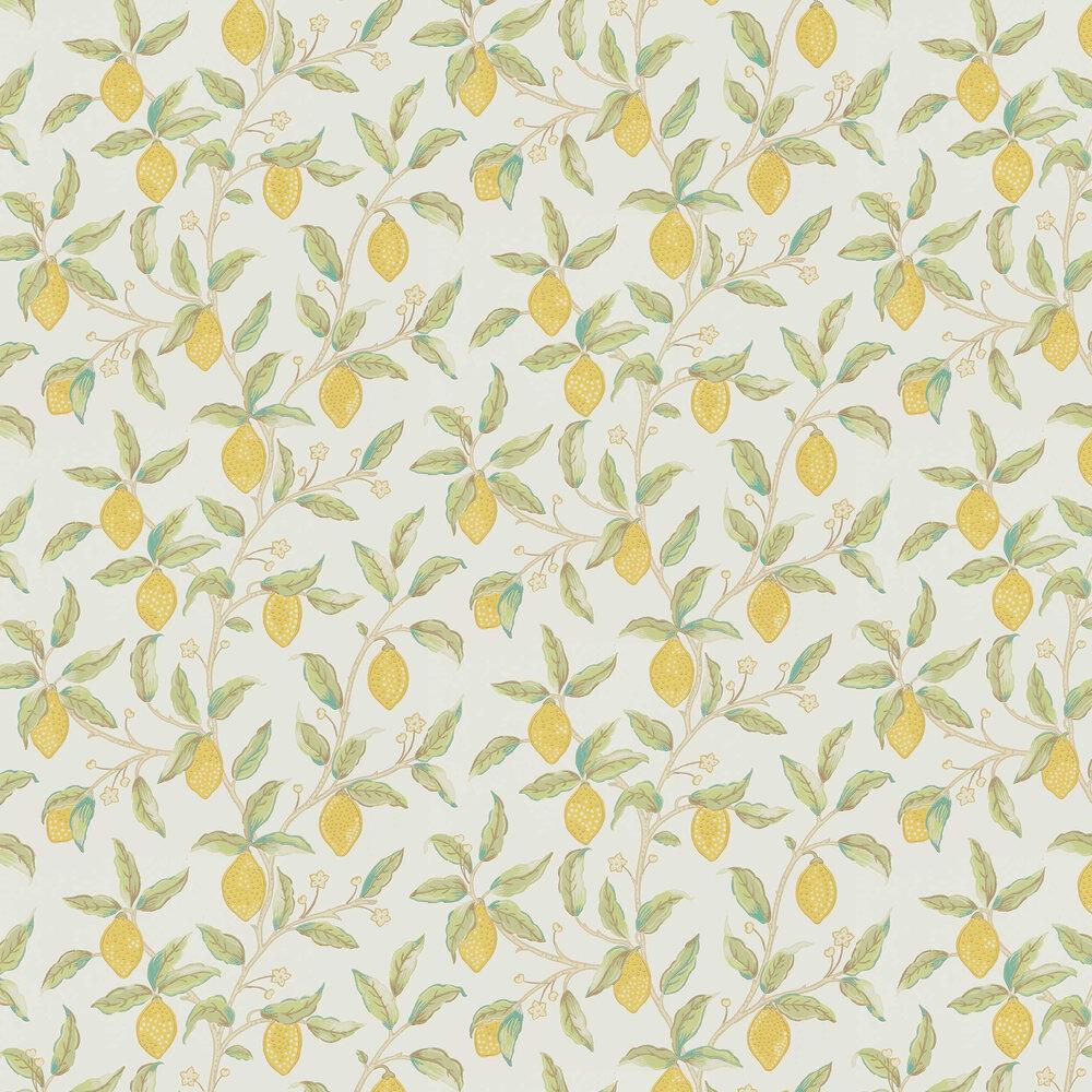 Morris Lemon Tree Bay Leaf Wallpaper - Product code: 216672