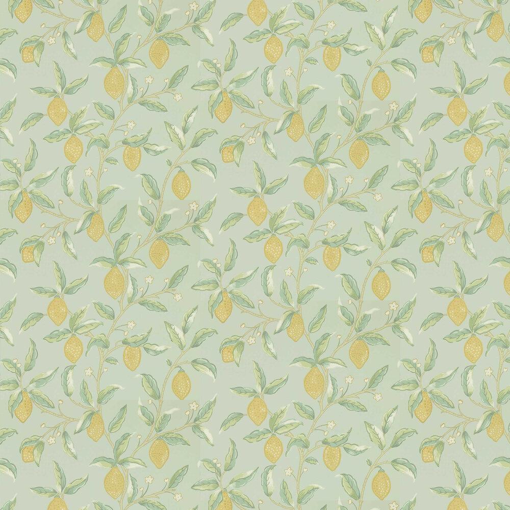 Morris Lemon Tree Sage Wallpaper - Product code: 216673