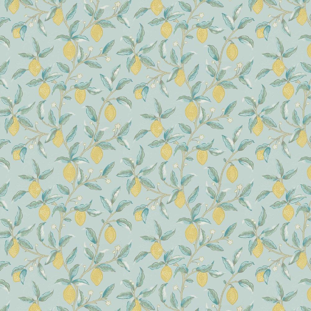 Morris Lemon Tree Wedgewood Wallpaper - Product code: 216674