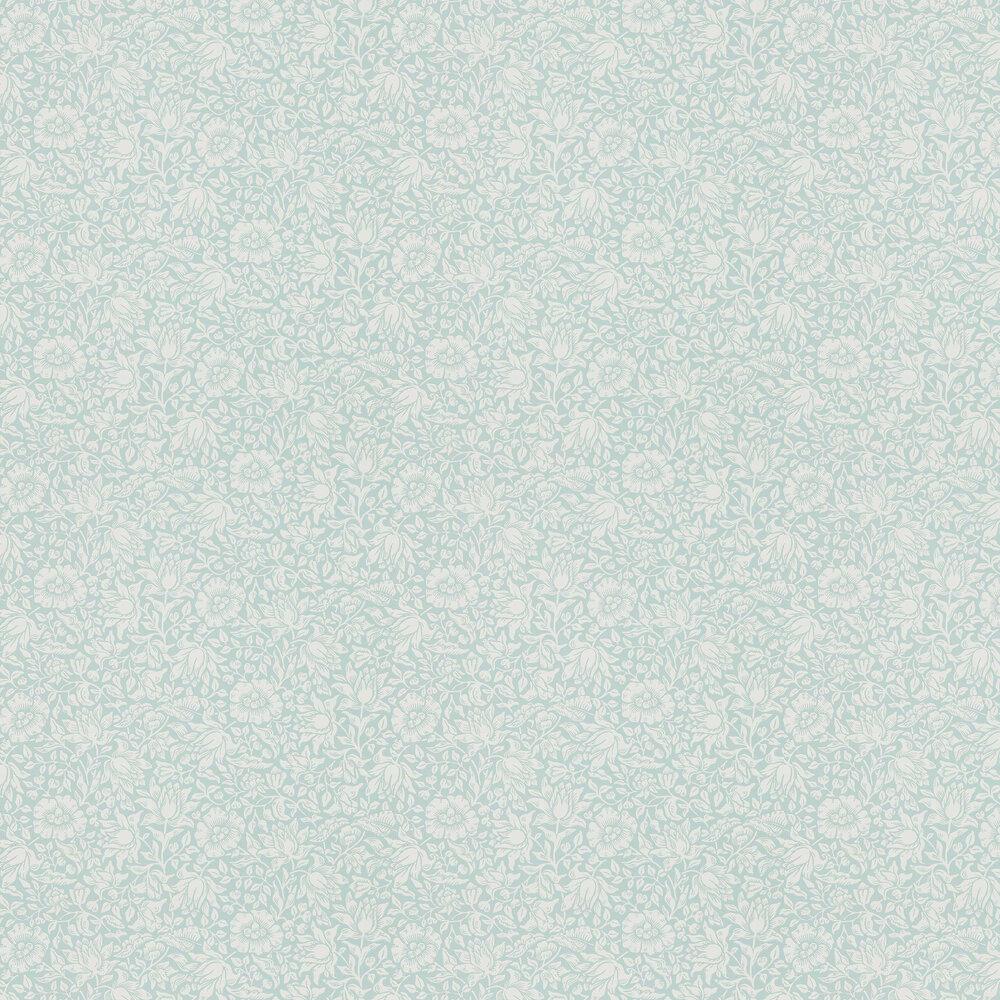 Morris Mallow Chalk Duck Egg Wallpaper - Product code: 216679