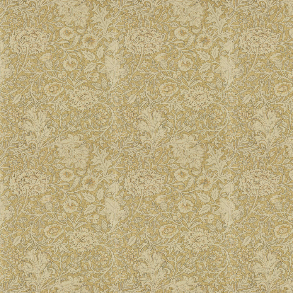 Double Bough Wallpaper - Antique Gold - by Morris