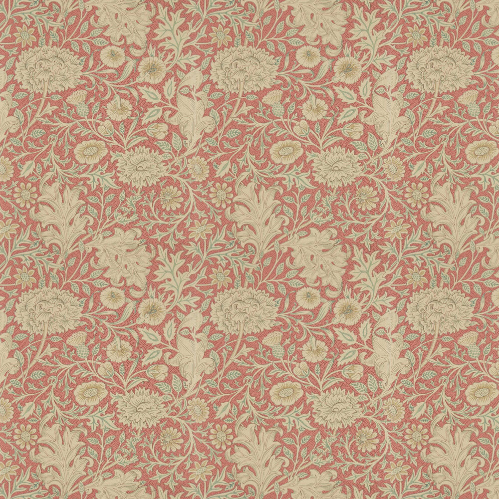 Double Bough Wallpaper - Carmine Red - by Morris