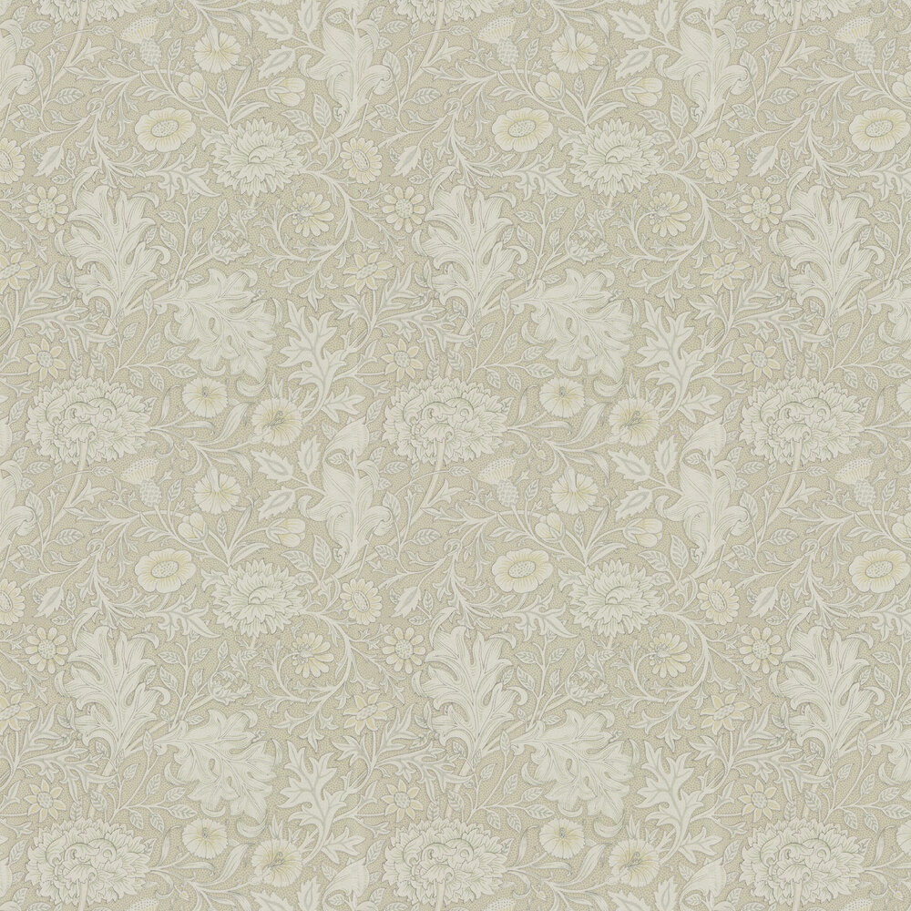Double Bough Wallpaper - Pewter - by Morris