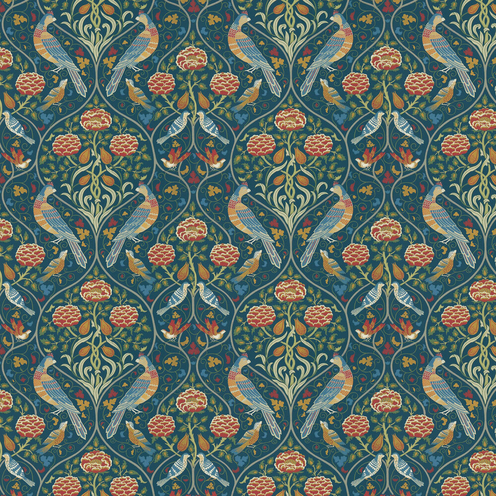Morris Seasons by May Indigo Wallpaper - Product code: 216686