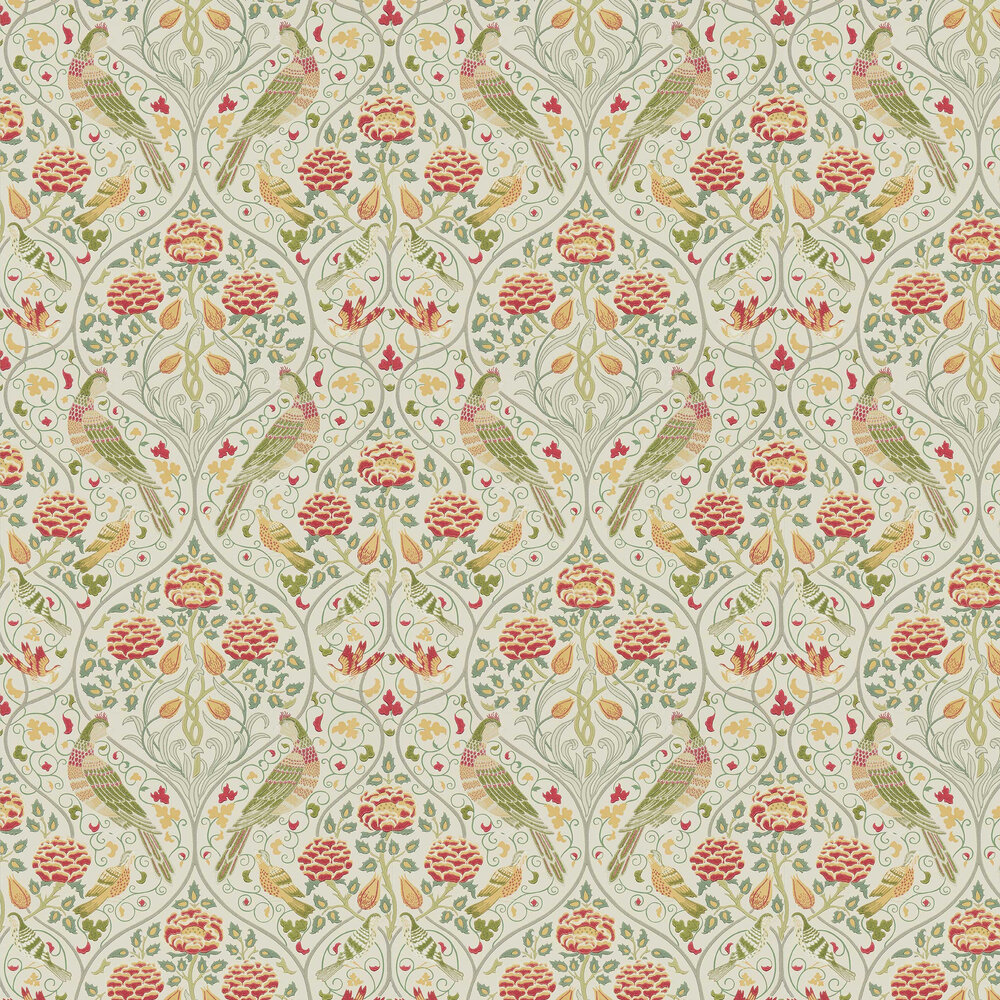 Morris Seasons by May Linen Wallpaper - Product code: 216687