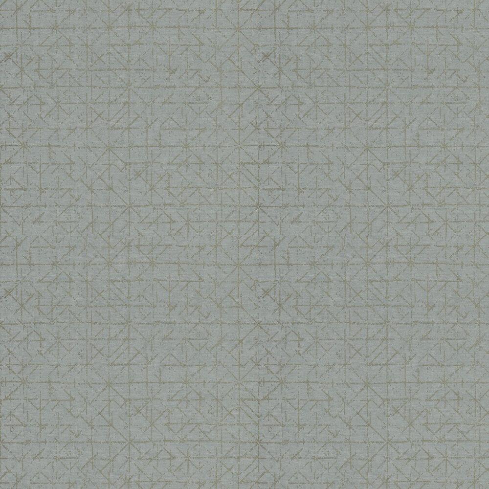 Graphic Wallpaper - Light Blue - by Eijffinger