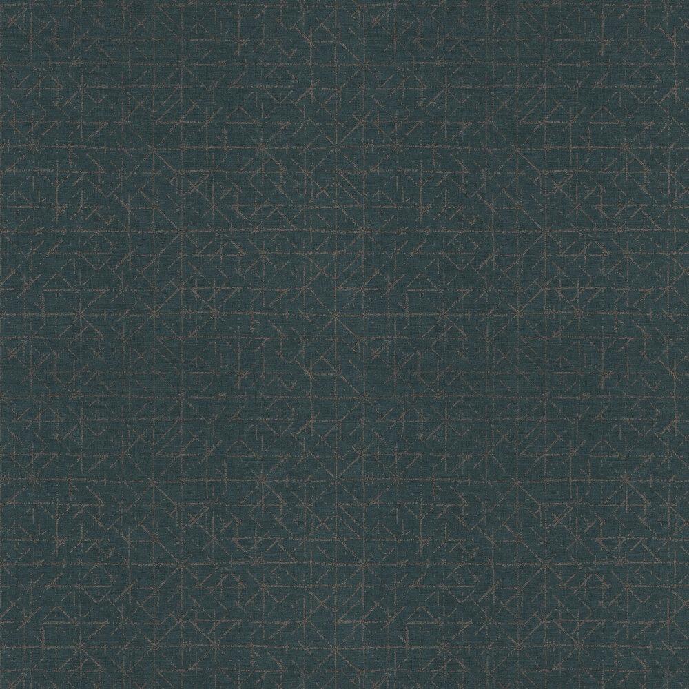 Eijffinger Graphic Teal Wallpaper - Product code: 394536