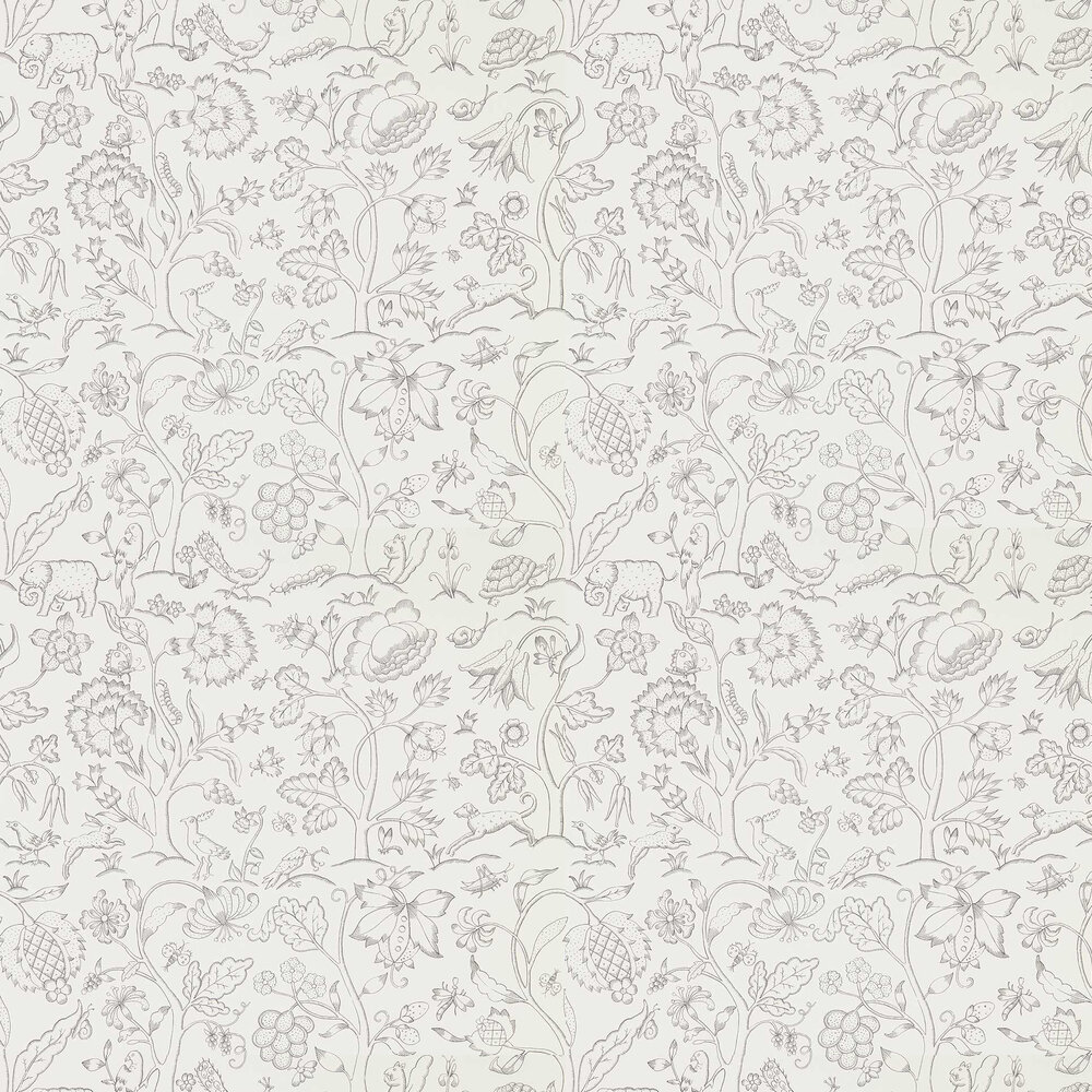 Morris Middlemore Chalk Charcoal Wallpaper - Product code: 216693