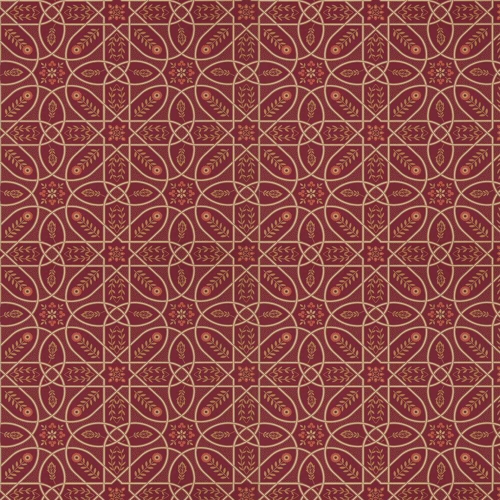 Morris Brophy Trellis Russet Gold Wallpaper - Product code: 216701