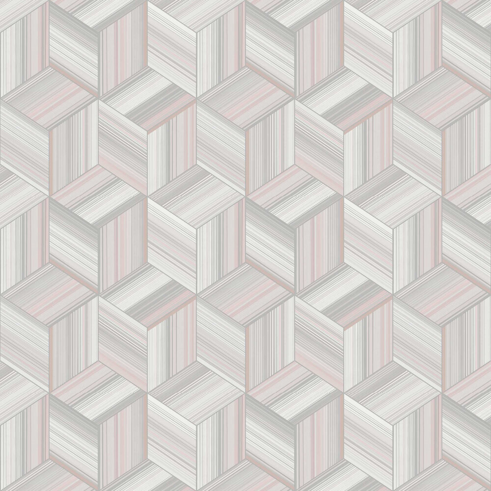 Hudson Wallpaper - Blush - by Albany