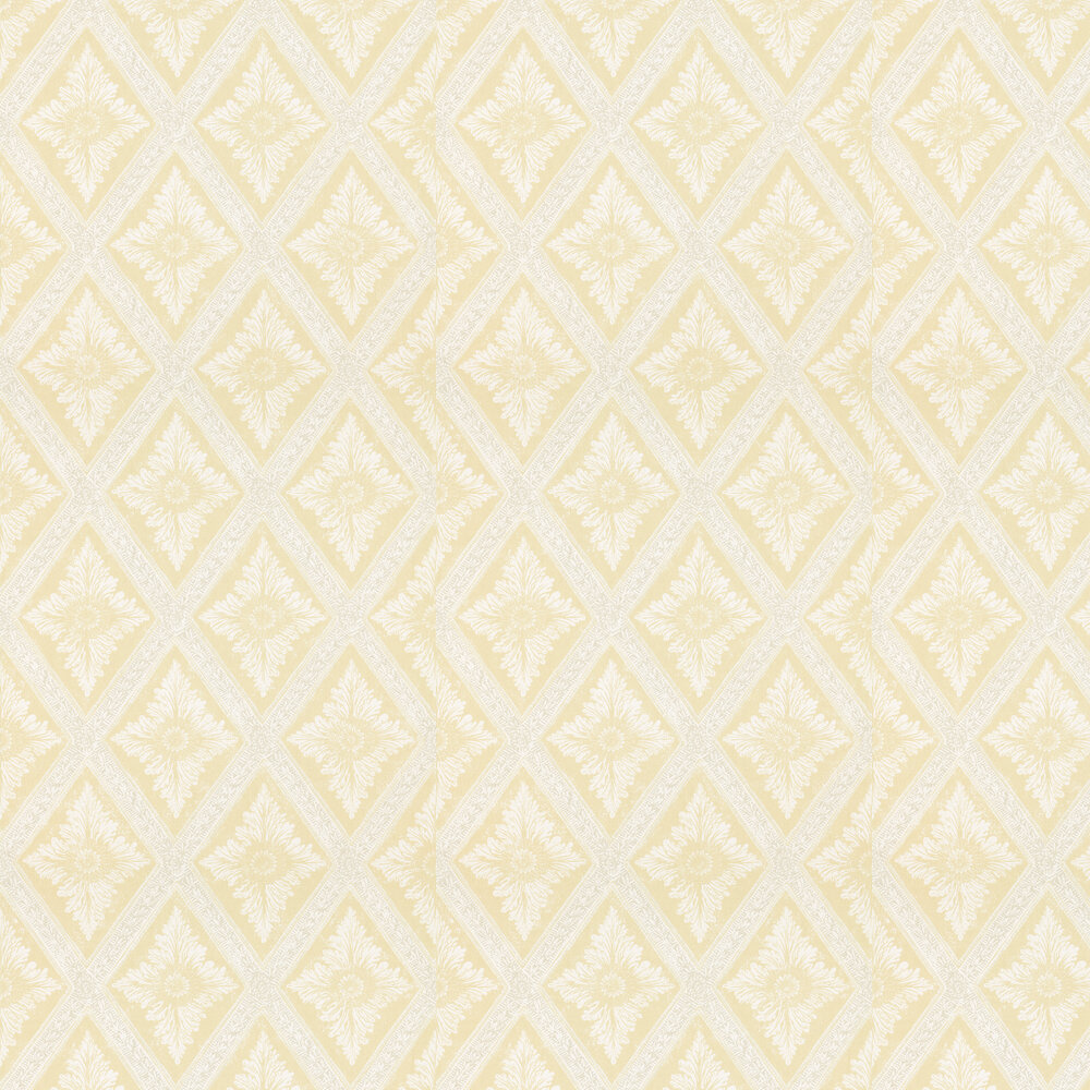 Ludvig Wallpaper - Yellow / Orange - by Sandberg