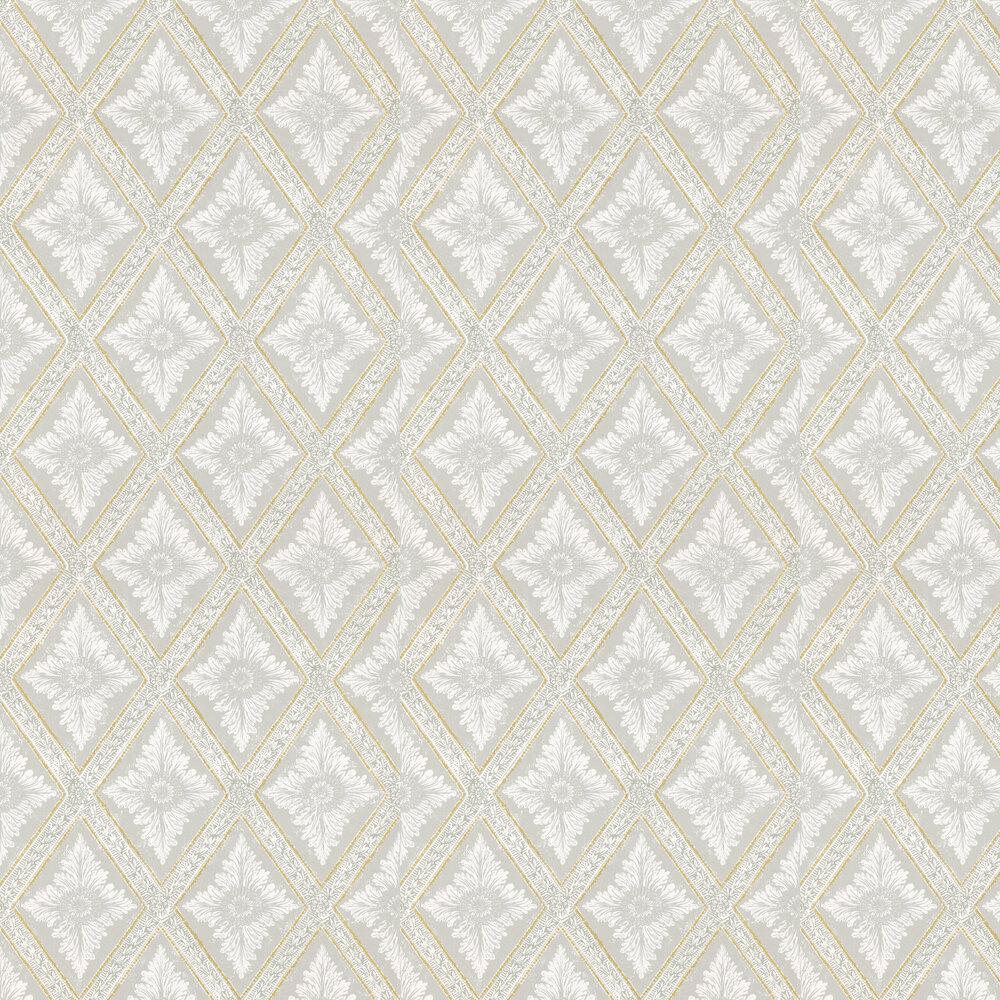 Ludvig Wallpaper - Grey / Gold - by Sandberg