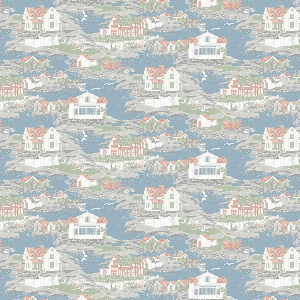 Boråstapeter Archipelago Multi-coloured Wallpaper - Product code: 8850