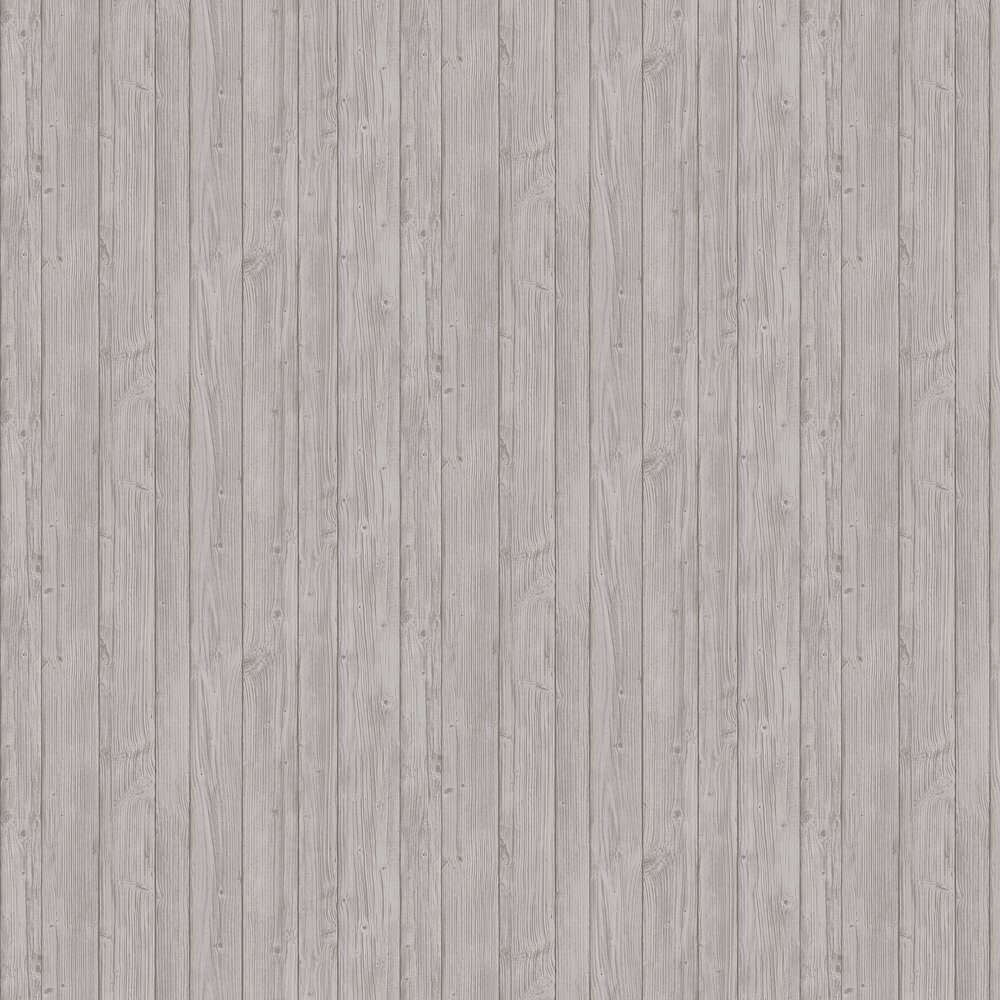 Driftwood Wallpaper - Grey - by Boråstapeter