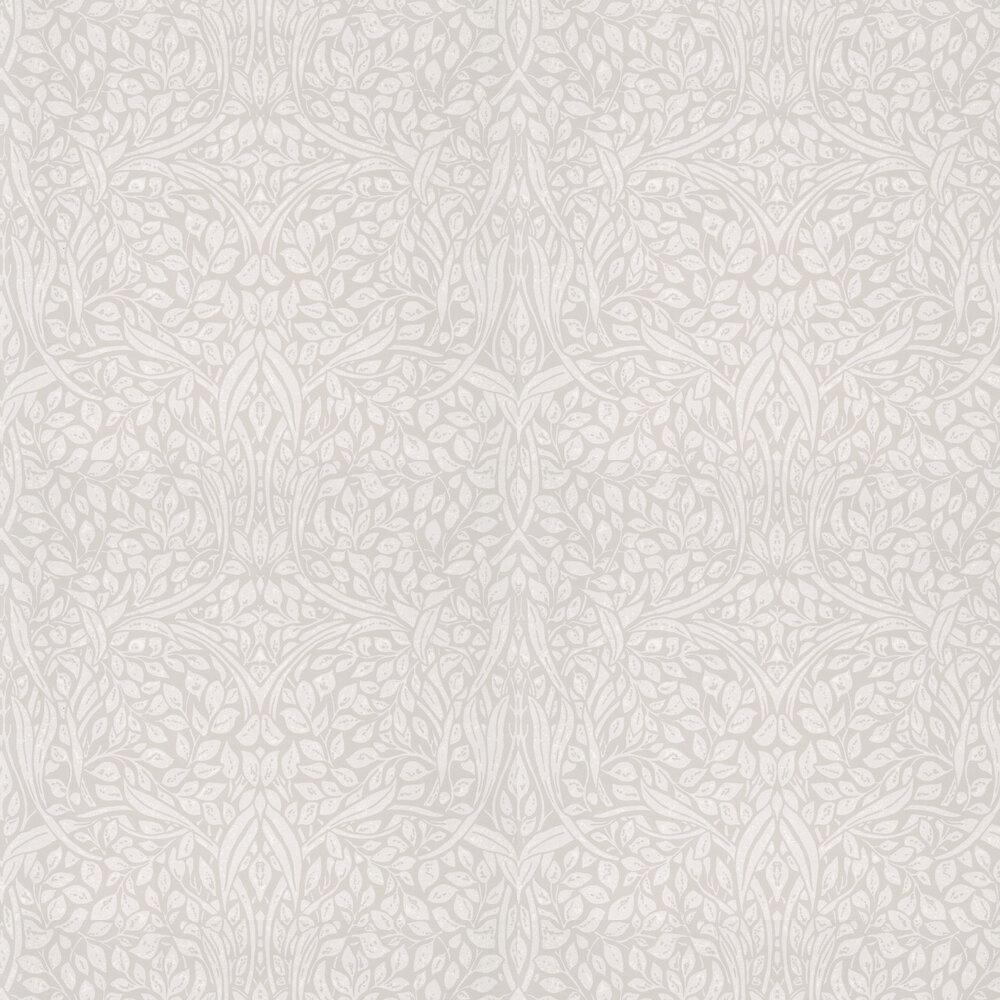 Swirling Leaves Wallpaper - Linen - by Eijffinger