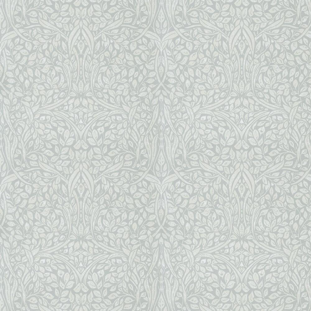 Swirling Leaves Wallpaper - Pistachio - by Eijffinger