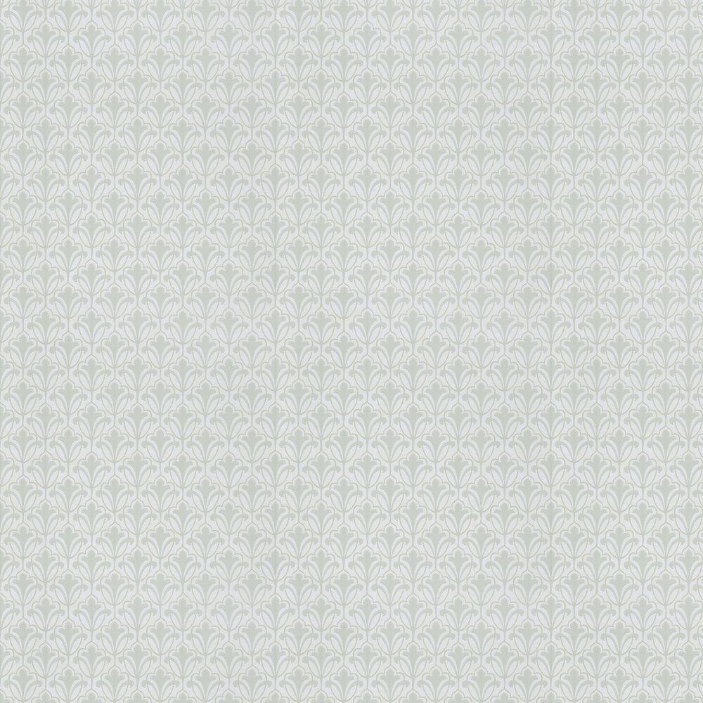 Carmen Motif Wallpaper - Pistachio - by Eijffinger