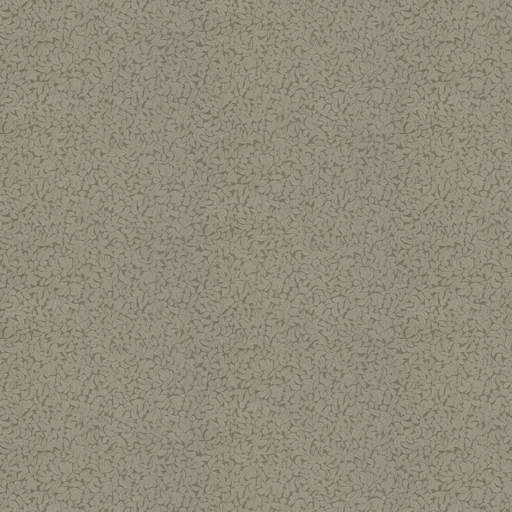 Leaves Wallpaper - Grey - by Eijffinger