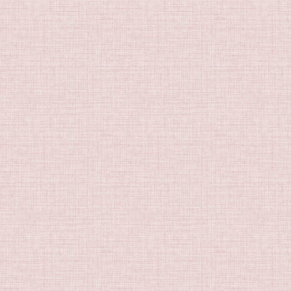Linen Wallpaper - Pink - by A Street Prints