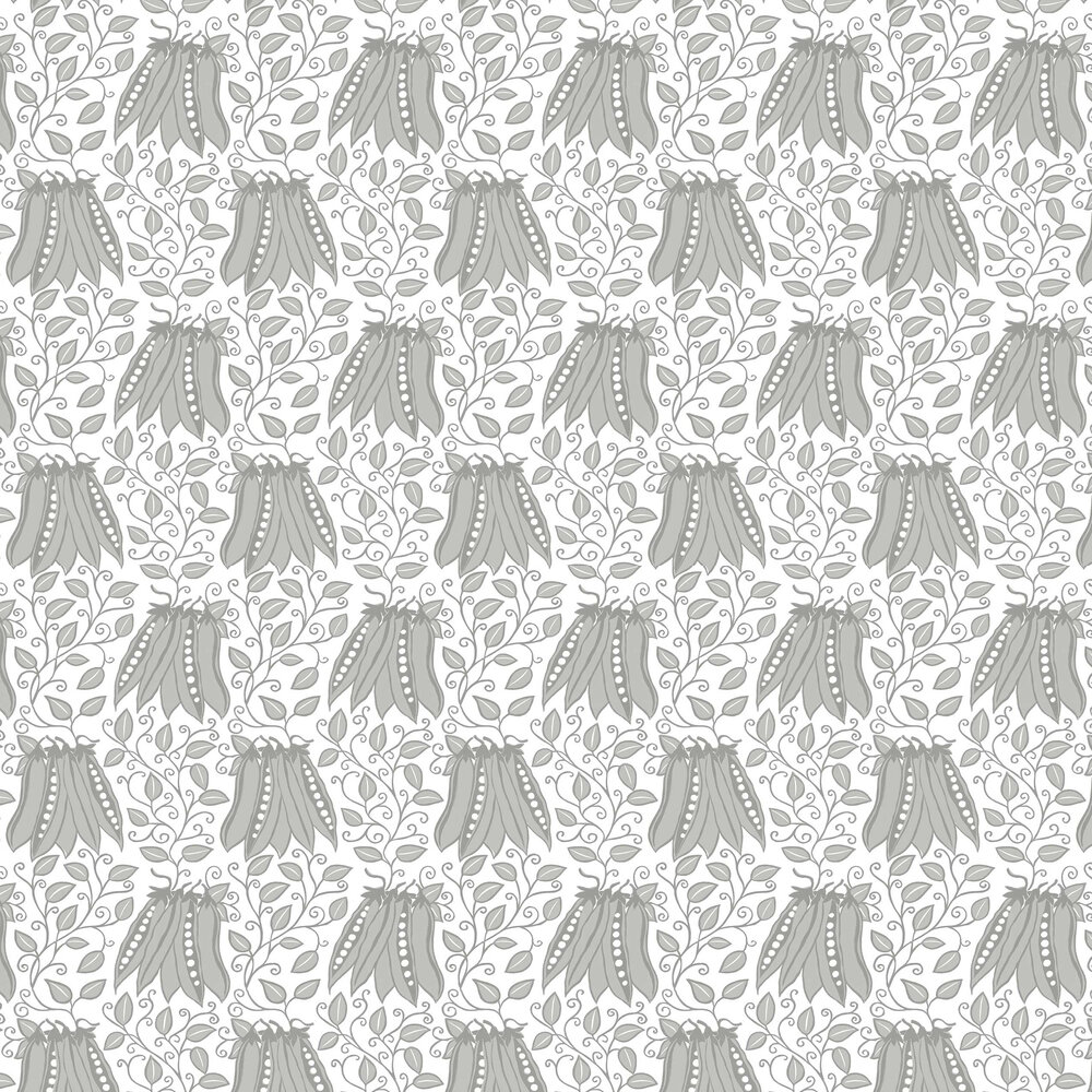 Peas in a pod Wallpaper - Grey - by A Street Prints