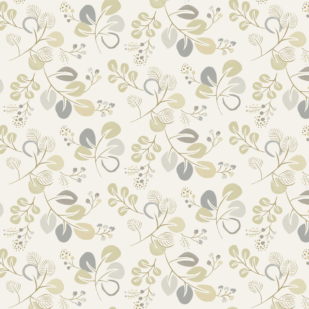 Jona Wallpaper - Grey / Beige - by A Street Prints