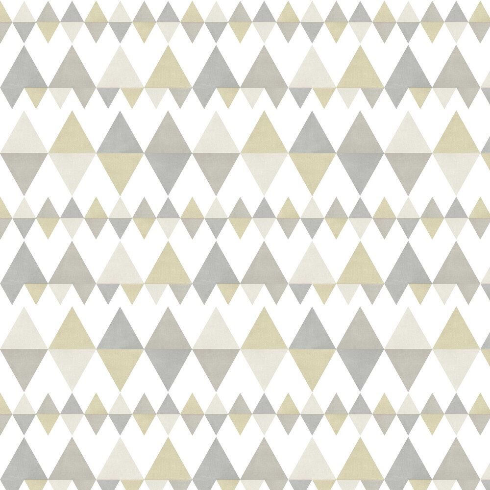 Triology Wallpaper - Grey / Beige - by A Street Prints