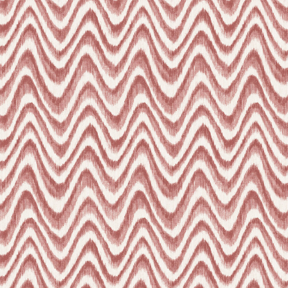 Bargello Wallpaper - Red - by A Street Prints