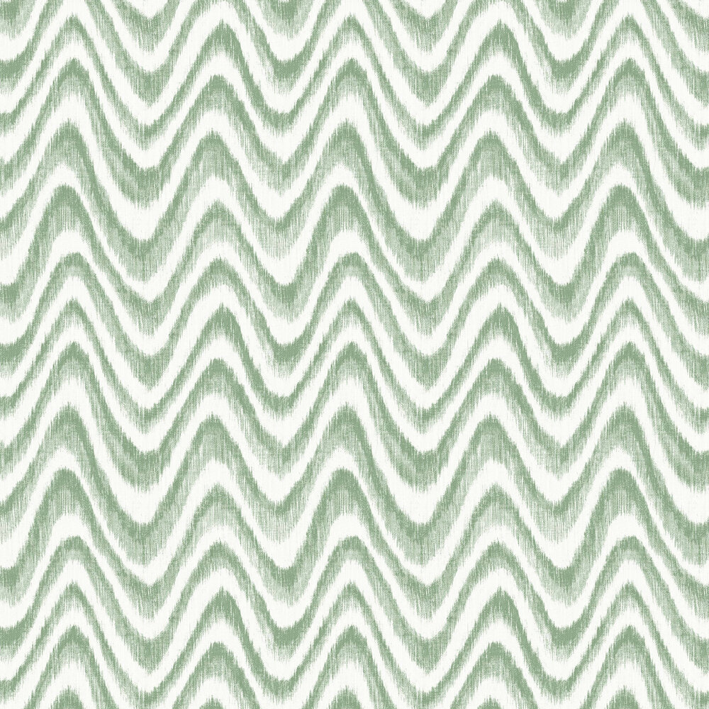 Bargello Wallpaper - Green - by A Street Prints