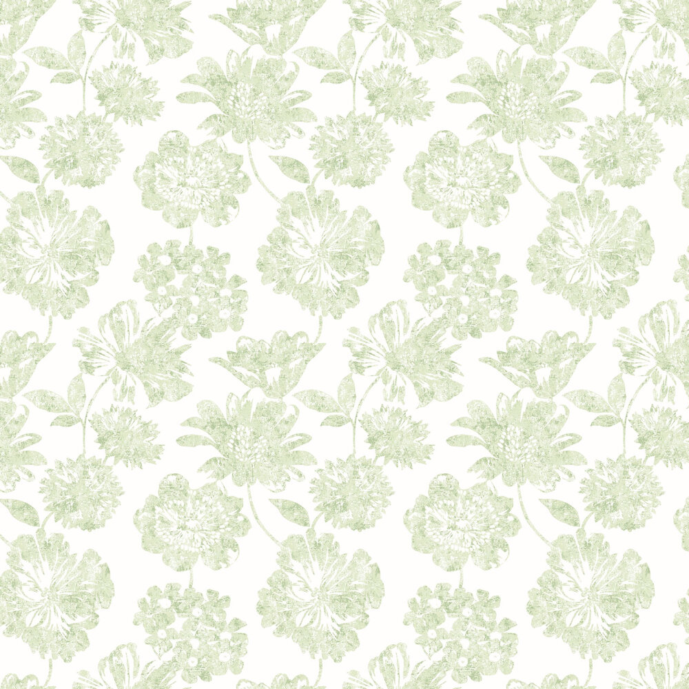 Folia Wallpaper - Green - by A Street Prints