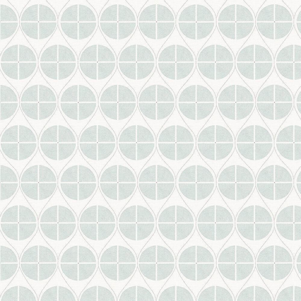Luminary  Wallpaper - Green / Grey - by A Street Prints