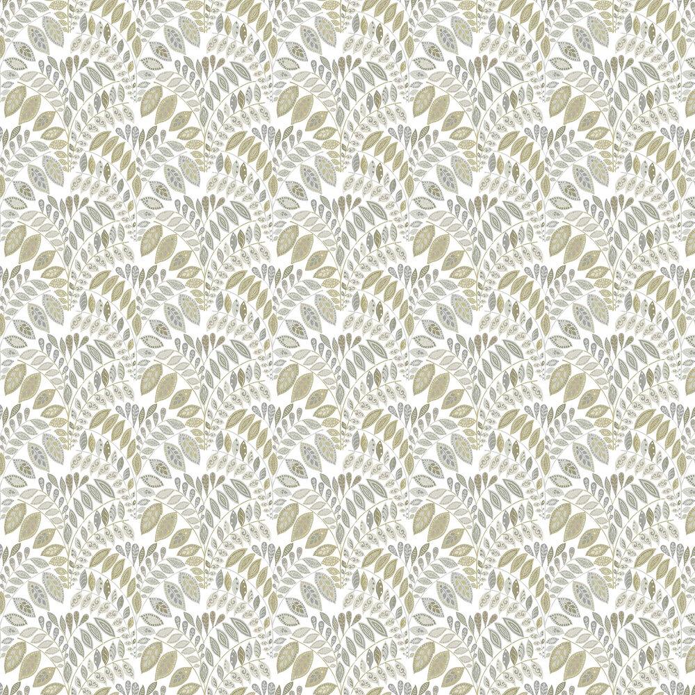 A Street Prints Fiddleheads Grey / Beige Wallpaper - Product code: FD25145