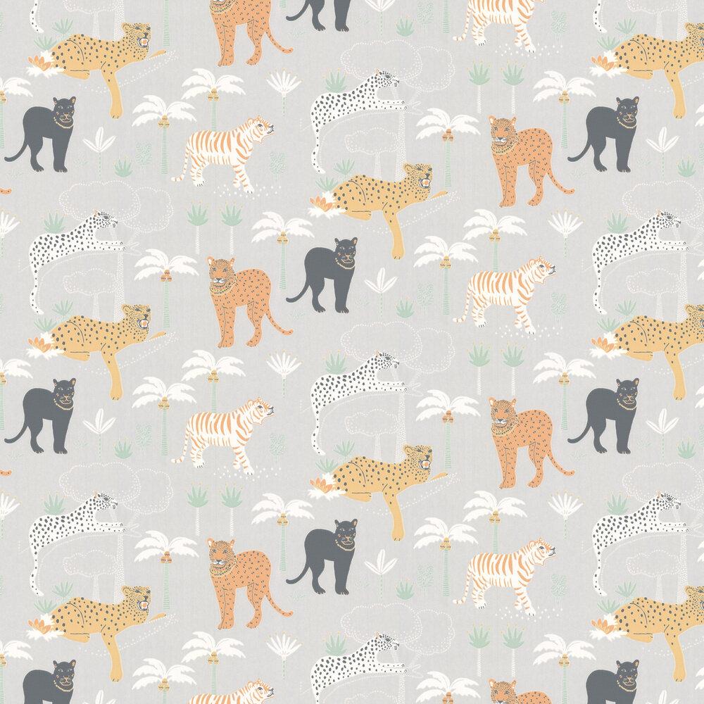 Majvillan Black Panther Light Grey Wallpaper - Product code: 134-01