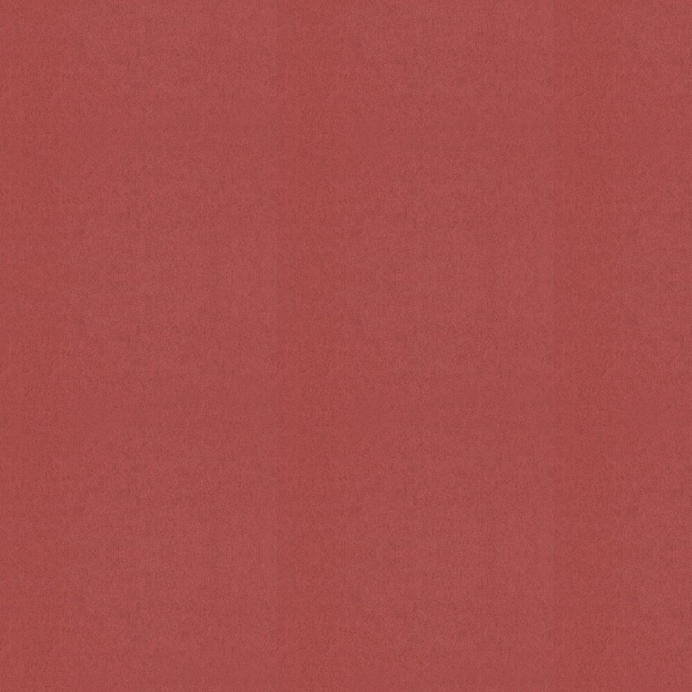 Chroma Wallpaper - Brick Red - by Osborne & Little