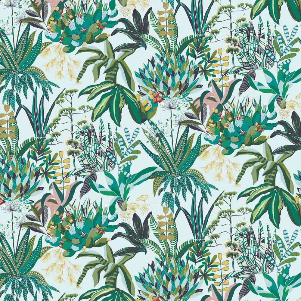 Lelievre Figari Green Wallpaper - Product code: 6440-01
