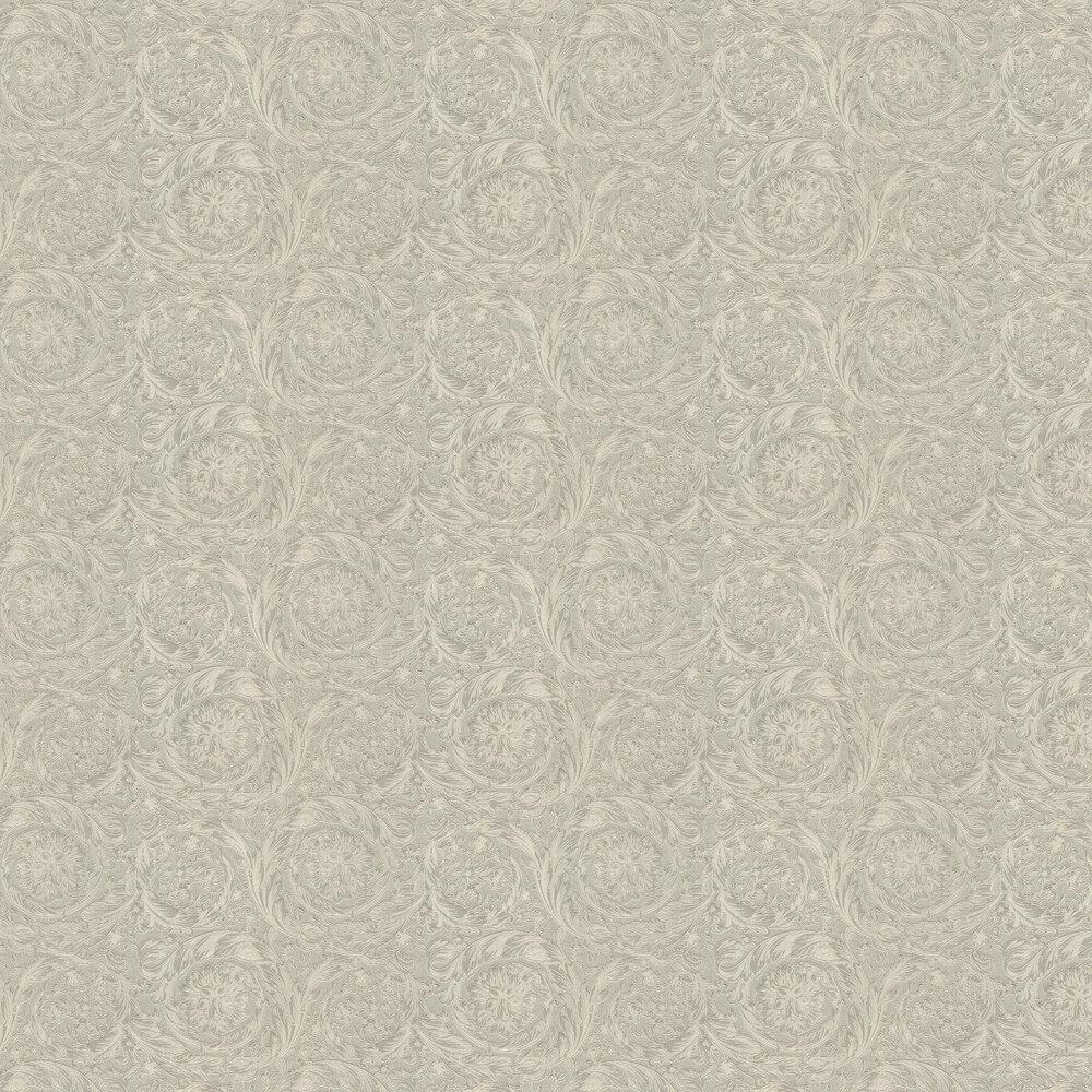 Barocco Metallics Wallpaper - Light Brass - by Versace
