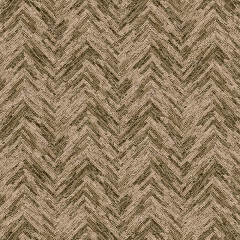 Versace Eterno Tile Brown Wallpaper - Product code: 37051-2