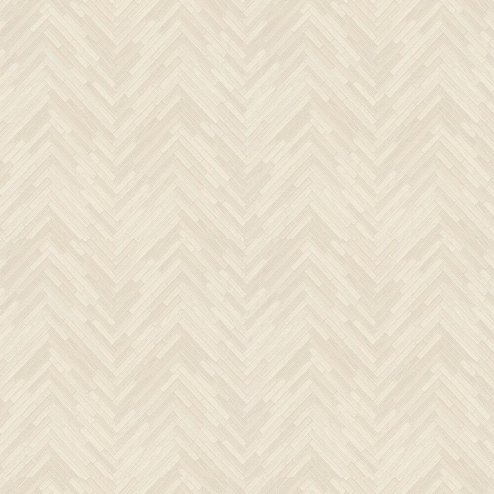 Versace Eterno Tile Beige Wallpaper - Product code: 37051-5
