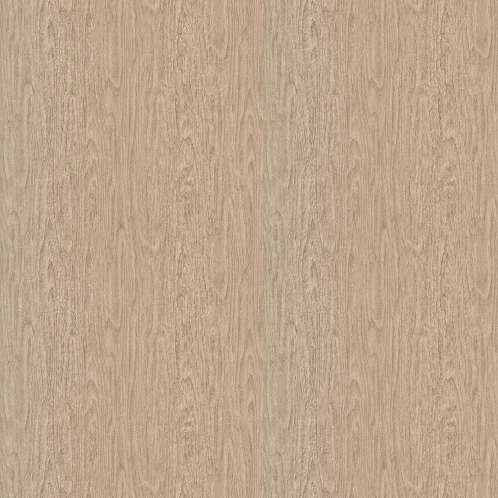 Eterno Wallpaper - Wood Brown - by Versace